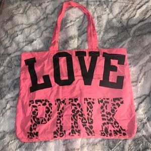 LOVE PINK tote bag